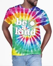 Be Kind Sun All-over T-Shirt aos-all-over-T-shirt-lifestyle-front-04