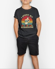 10th Vintage spent birthday Youth T-Shirt lifestyle-youth-tshirt-front-1