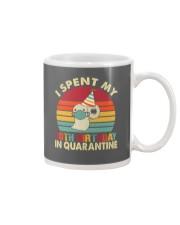 10th Vintage spent birthday Mug thumbnail