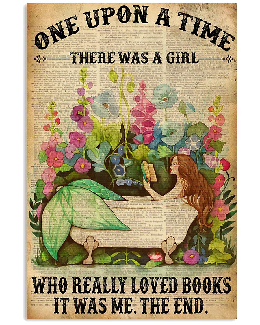 Mermaid Loves Book 11x17 Poster