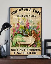 Mermaid Loves Book 11x17 Poster lifestyle-poster-2