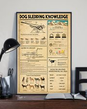 Dog Sledding Knowledge 11x17 Poster lifestyle-poster-2