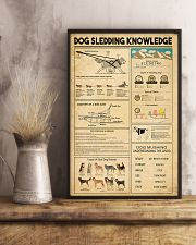 Dog Sledding Knowledge 11x17 Poster lifestyle-poster-3