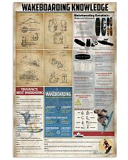 Wakeboarding Knowledge  11x17 Poster front
