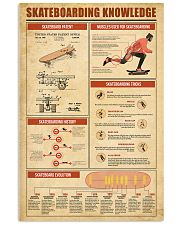 Skateboarding Knowledge 11x17 Poster front