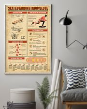 Skateboarding Knowledge 11x17 Poster lifestyle-poster-1