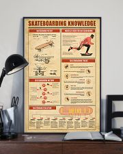 Skateboarding Knowledge 11x17 Poster lifestyle-poster-2