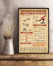 Skateboarding Knowledge 11x17 Poster lifestyle-poster-3