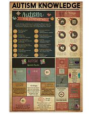 AUTISM Knowledge  11x17 Poster front