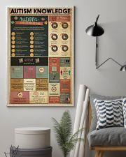 AUTISM Knowledge  11x17 Poster lifestyle-poster-1