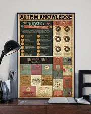 AUTISM Knowledge  11x17 Poster lifestyle-poster-2