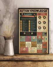 AUTISM Knowledge  11x17 Poster lifestyle-poster-3