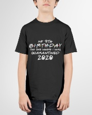 My 9th birthday the one where i was quarantined Youth T-Shirt garment-youth-tshirt-front-01