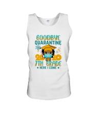 Black Girl 7th grade Goodbye quarantine Unisex Tank thumbnail