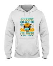 Black Girl 7th grade Goodbye quarantine Hooded Sweatshirt thumbnail