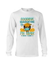 Black Girl 7th grade Goodbye quarantine Long Sleeve Tee thumbnail