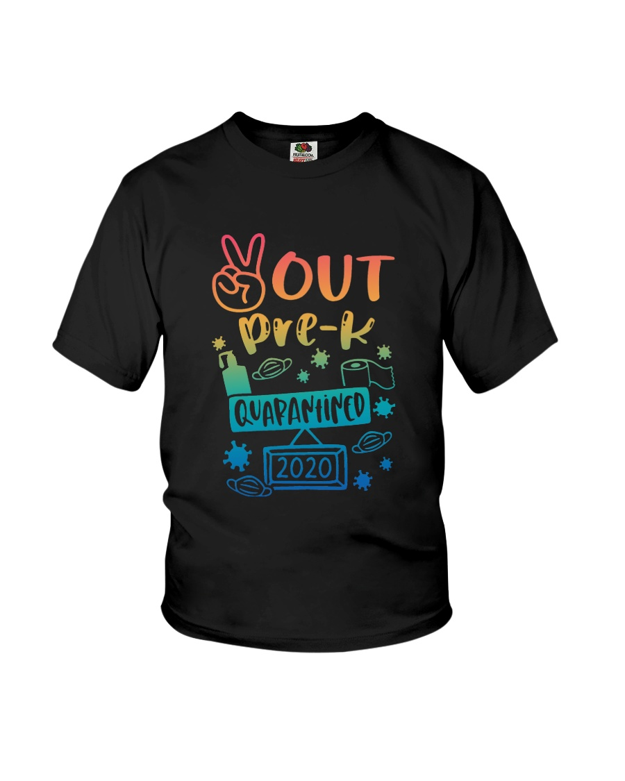 Pre-K Peace Out Youth T-Shirt