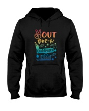 Pre-K Peace Out Hooded Sweatshirt thumbnail