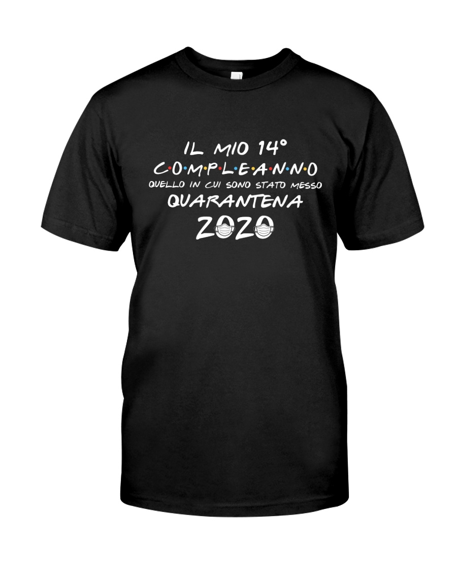 14 Italy One Birthday Classic T-Shirt