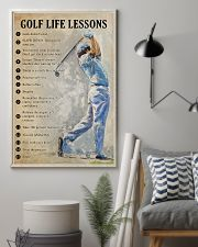 Golf life lessons 11x17 Poster lifestyle-poster-1