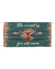 No country for old men Cloth face mask front
