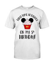5th First time birthday Classic T-Shirt thumbnail