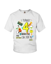 4 Turned Stop Me Youth T-Shirt front