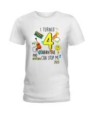 4 Turned Stop Me Ladies T-Shirt thumbnail