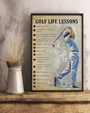 Golf life lessons 11x17 Poster lifestyle-poster-3