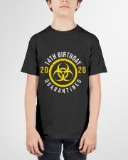 14th Birthday Quanrantined Youth T-Shirt garment-youth-tshirt-front-01