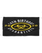 14th Birthday Quanrantined Cloth face mask thumbnail