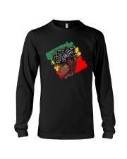 I Am Strong Black Woman Long Sleeve Tee thumbnail