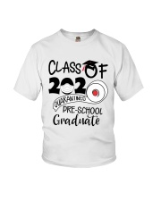 Pre K  Quarantined Graduate Youth T-Shirt front