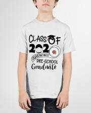 Pre K  Quarantined Graduate Youth T-Shirt garment-youth-tshirt-front-01