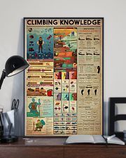 Climbing Knowledge 11x17 Poster lifestyle-poster-2