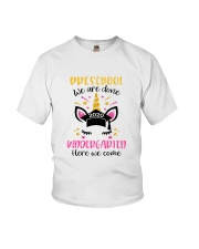 Pre-K We are done Youth T-Shirt front