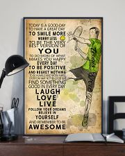 Tennis Today Is A Good Day 11x17 Poster lifestyle-poster-2