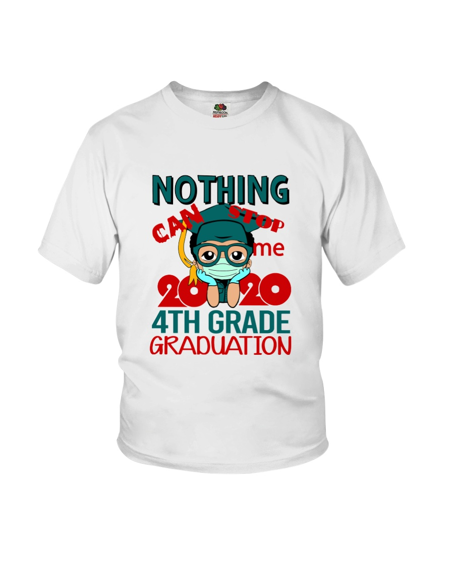 Boy 4th grade Nothing Stop Youth T-Shirt