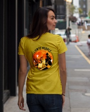 Shuh Duh Fuh Halloween  Ladies T-Shirt lifestyle-women-crewneck-back-1
