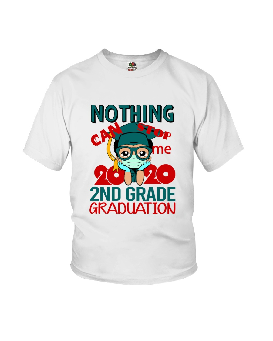 Boy 2nd grade Nothing Stop Youth T-Shirt