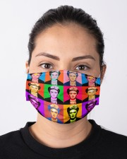 Frida Kahlo pop art Cloth face mask aos-face-mask-lifestyle-01