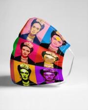 Frida Kahlo pop art Cloth face mask aos-face-mask-lifestyle-21