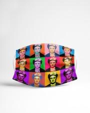 Frida Kahlo pop art Cloth face mask aos-face-mask-lifestyle-22