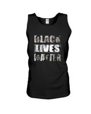 Black Lives Matter front Unisex Tank front