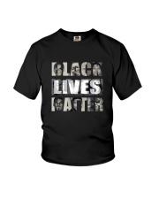 Black Lives Matter front Youth T-Shirt thumbnail