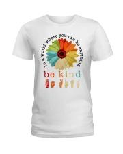 In a world sticker Ladies T-Shirt thumbnail