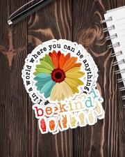 In a world sticker Sticker - 6 pack (Vertical) aos-sticker-6-pack-vertical-lifestyle-front-05