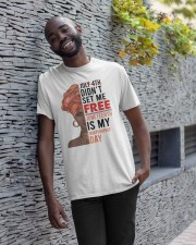 Juneteenth Is My Independence Day Classic T-Shirt apparel-classic-tshirt-lifestyle-front-33