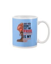 Juneteenth Is My Independence Day Mug thumbnail