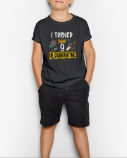 9 I turned in quarantine Youth T-Shirt lifestyle-youth-tshirt-front-1